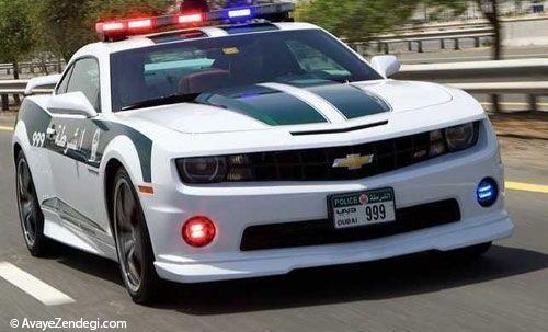 سریع ترین ماشین پلیس های دنیا