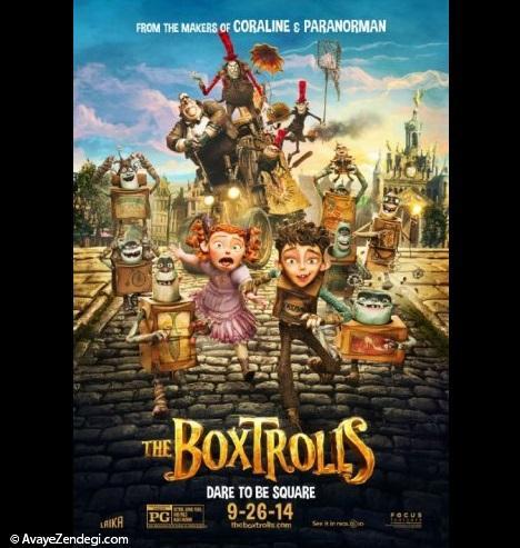 معرفی انیمیشن عروسک های جعبه ای (The Boxtrolls)