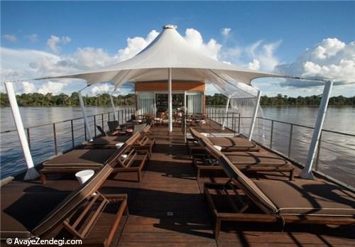 هتل 5 ستاره دریایی در آبهای آمازون
