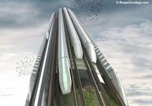 ایستگاه قطار جدید در آینده