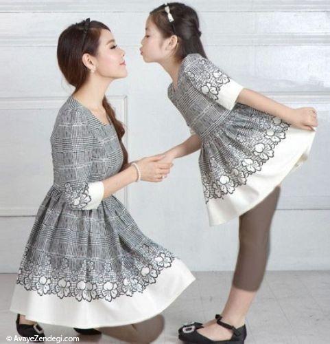 مدل های ست لباس خانوادگی