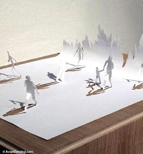 ساخت کاردستی های جالب با کاغذ