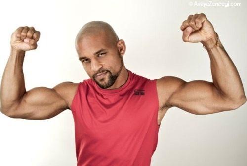 بدون نیاز به وزنه عضله بسازید