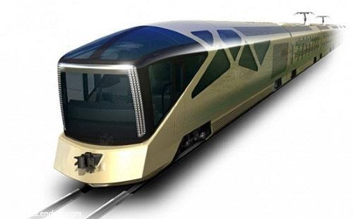 طراحی یک قطار گشت زنی مجلل توسط شرکت فراری