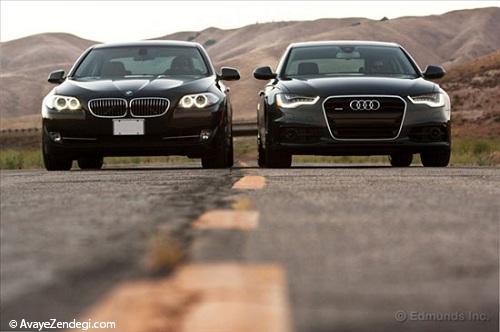 جدال پایان ناپذیر BMW وAudi