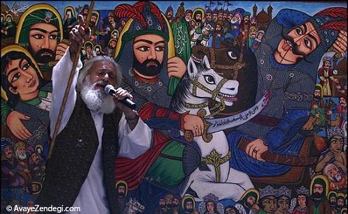 روایتگریهای نقاشانه از وقایع کربلا