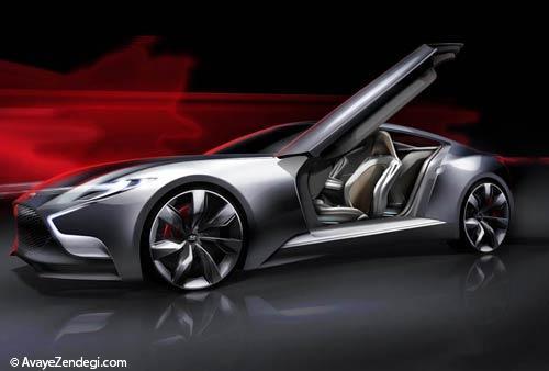 ماشین جنسیس کوپه با موتور V8