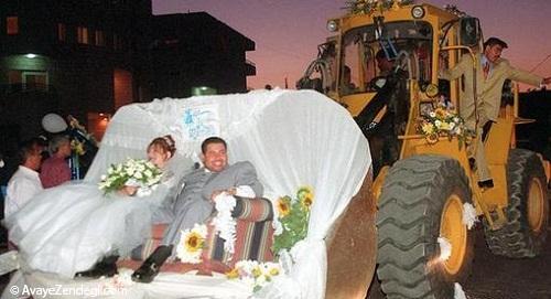 عجیبترین مراسمهای عروسی در جهان