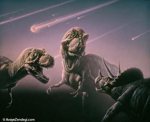 انقراض دایناسور ها