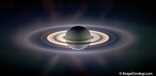 چگونگی تشکیل حلقه زحل