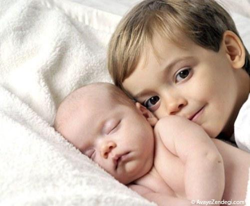 چگونه فرزند بزرگ را برای فرزند جدید آماده کنیم؟