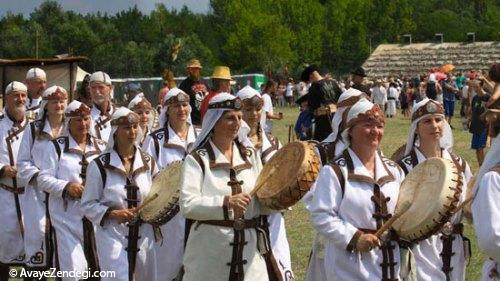 فستیوال قبیلههای اسب سوار در مجارستان