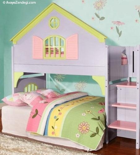 دکور صورتی اتاق کودکان