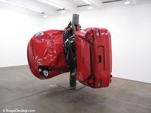 اتومبیلهای تصادفی جالب و دیدنی