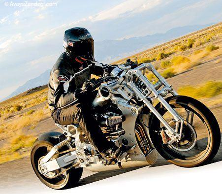 لذت موتورسواری با چشمان گرد «کروزر»
