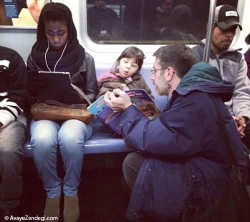 تصاویری تکان دهنده از فداکارترین پدرهای دنیا!