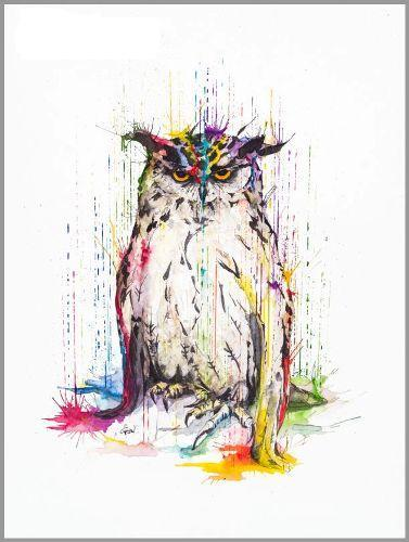 نقاشی های آبرنگ جالب از حیوانات