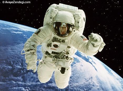 سرعت اینترنت فضانوردان چگونه است؟
