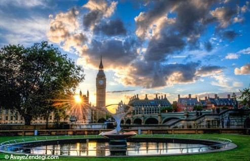 زیبایی های لندن به روایت تصویر