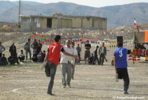 سه بازی محلی آذربایجان غربی