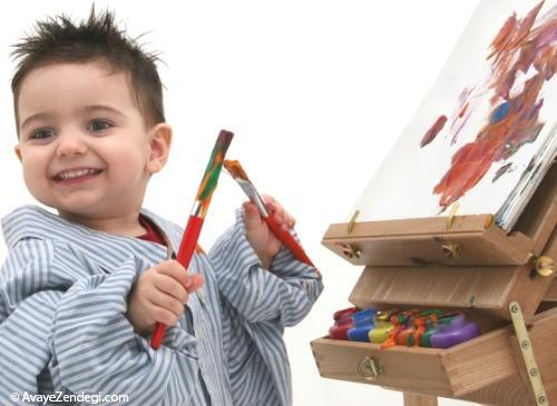 نقاشی های عجیب و غریب کودک به چه معنی است؟