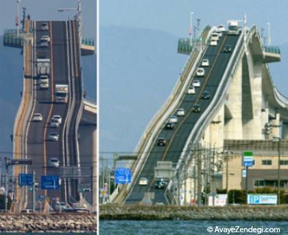 شیب دارترین پل ماشین رو