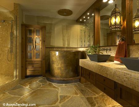 شیک ترین دکوراسیون حمام و سرویس بهداشتی