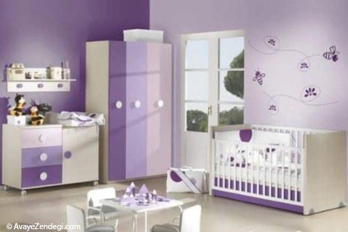 اتاق بچه ها باید چه رنگی باشد؟