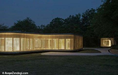 بهشت معماری در قلب جنگل