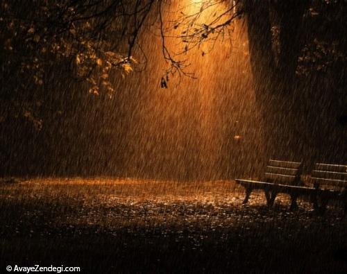 داستان عاشقانه مسافر شهر باران