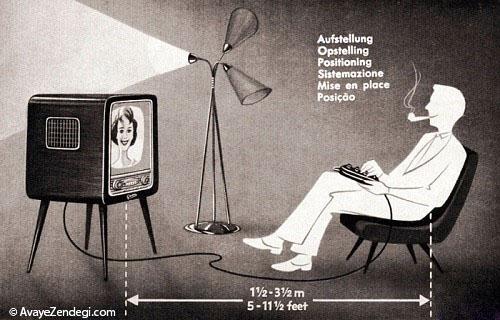 اولین کنترل های تلویزیون چگونه بودند؟