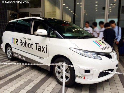 نسل جدید تاکسی های بدون راننده
