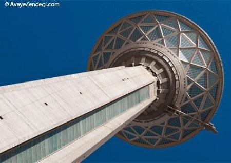 گوشه و کنار برج میلاد تهران