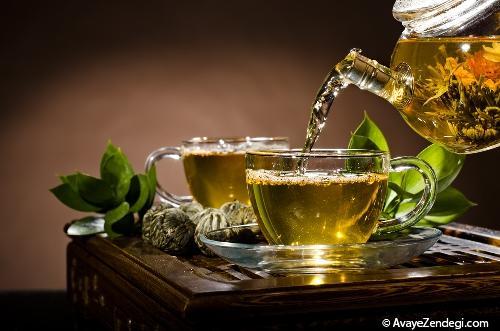 بهترین زمان خوردن چای سبز