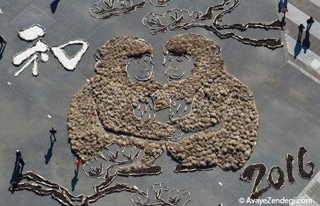 آمادگی برای جشن سال میمون
