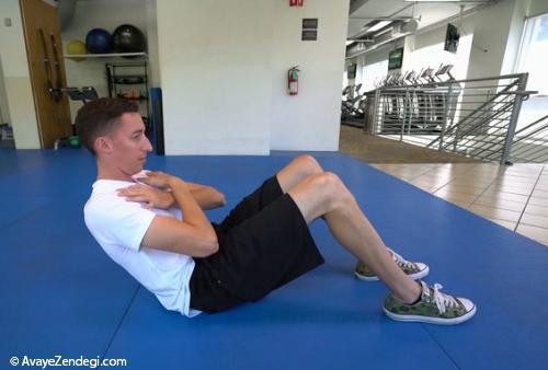 چرا دراز و نشست باعث کاهش چربی شکم و کاهش وزن نمیشود؟