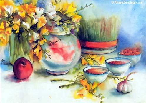اس ام اس تبریک عید نوروز 95 (2)