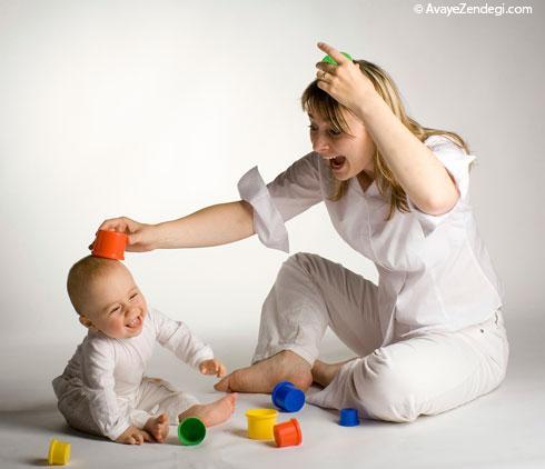 بازیهای بامزه برای بچه های یک تا سه ساله
