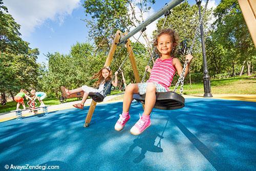 چطور از بچهها در پارک مراقبت کنیم؟
