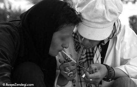 اعتیاد در زنان و عوامل موثر در گرایش زنان به مواد مخدر
