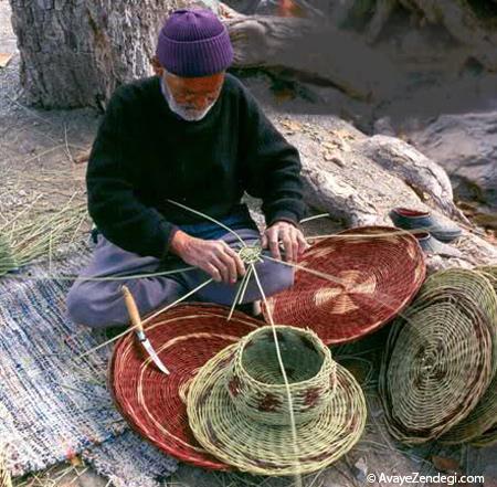 آشنایی با هنر پخل بافی