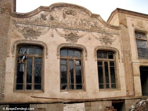 تبریز، ویترین خانههای تاریخی ایران