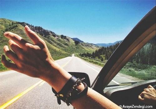 فواید سفر
