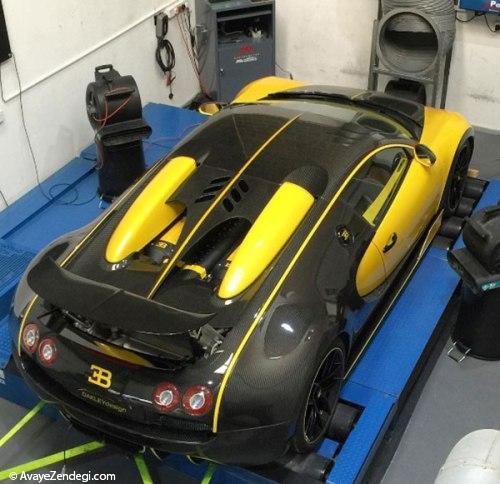 ابر خودروی بوگاتی با 1600 اسب بخار
