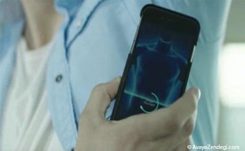 اپلیکیشن موبایلی برای تشخیص بوی بدن کاربر