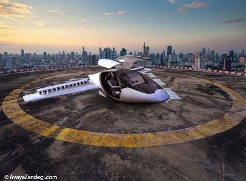 Lilium، هواپیمای عمودپرواز آینده