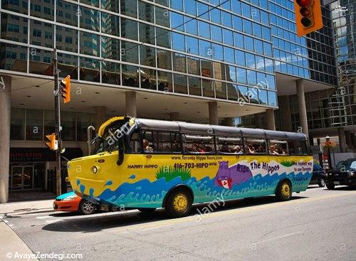 اتوبوسهای دوزیست تورنتو!