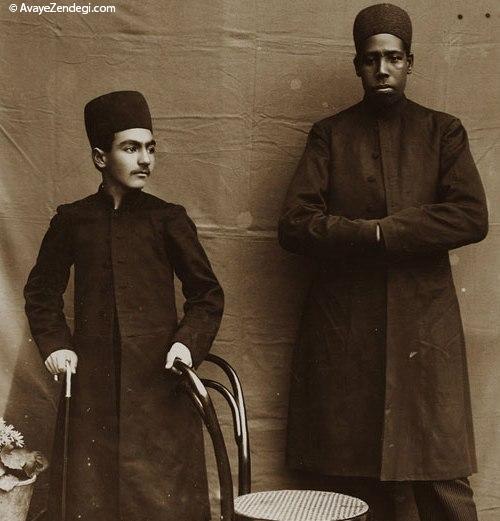 شاهزاده قجری و برده افریقایی