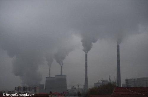 تصاویر تکان دهنده ای از وسعت آلودگی در چین