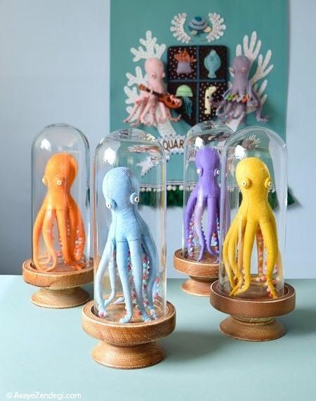 عروسک های نمدی جدید و خلاقانه